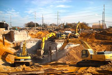 prace budowlane ziemne